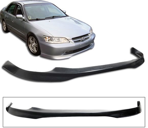 1998 2002 Honda Accord 4dr Front Bumper Lip Type R Poly Urethane Blf Ha984tr P Honda Accord Honda Accord Custom Honda