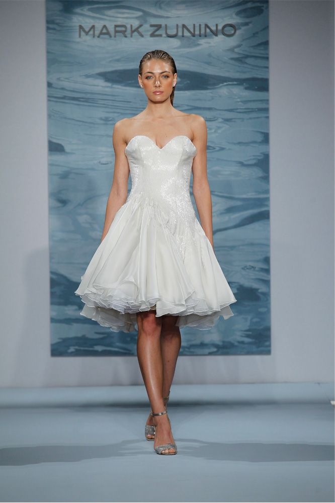 Spring Mark Zunino 2015   Short Wedding Dresses   Pinterest   Mark ...