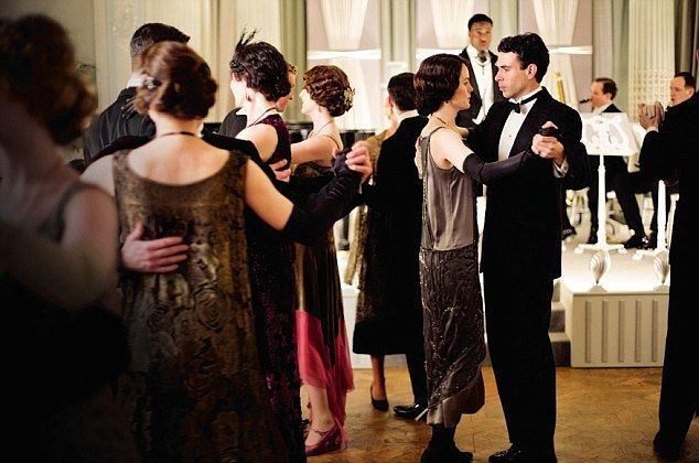 Downton Dances To A New Tune An Exclusive Backstage Look At