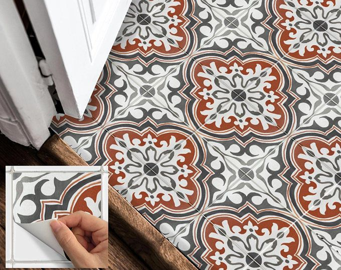 Fußboden Fliesen Aufkleber ~ Boden fliesen aufkleber vinyl aufkleber wasserdicht abnehmbar für