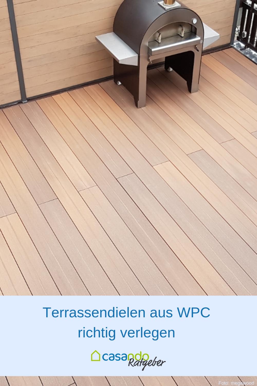 Beliebt WPC-Terrassendielen verlegen | terrasse & balkon in 2019 KK57