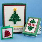 Craft project: Make lacy paper filigree to decorate cards, gift tags, boxes and more. Christmas quilling patterns and ideas for using quilling are included.