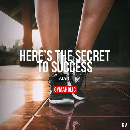 Here's The Secret To Success