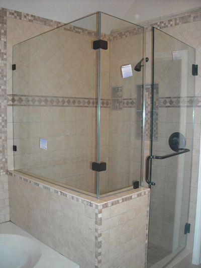 Shower Doors Frameless Glass Glass Shower Enclosures