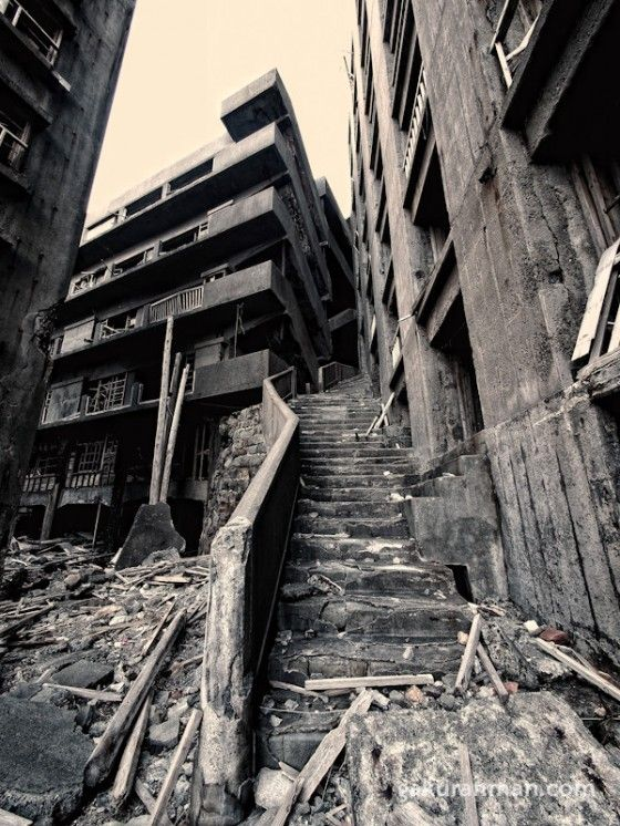 Japan.hashima Island West Coast Of Japan   Abandoned City   From 007 Movie  Skyfall