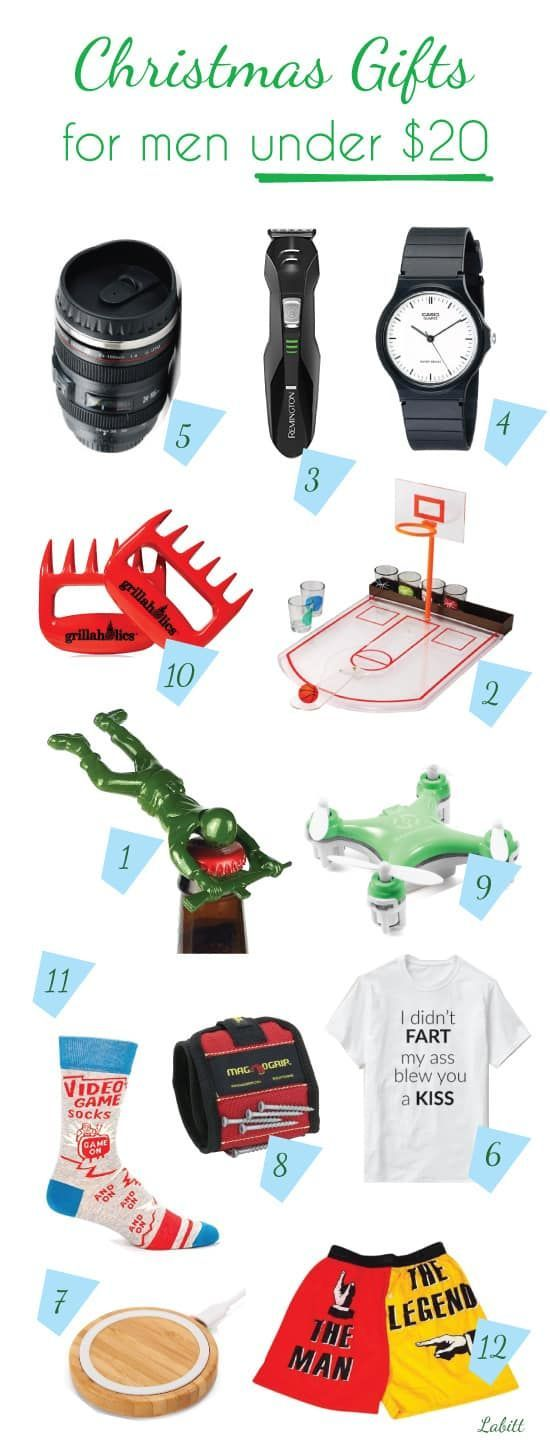 Top 12 Christmas Gift Ideas For Men Under 20 With Images