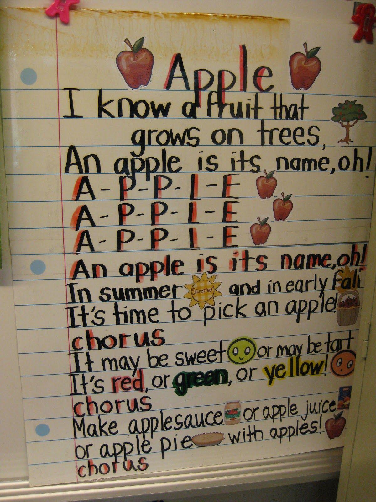 Apple Bingo Song