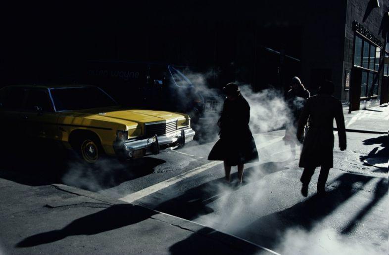 Ernst Haas - Everybody's Talking: New York, Winter 1980