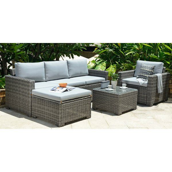 brand new 3a088 178f5 Delacruz 5 Seater Rattan Sofa Set | Flat-Bella vista balcony ...