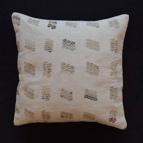 26x26 Pillow Covers Coussin Cotton Kissen Marokko Boho Pillow