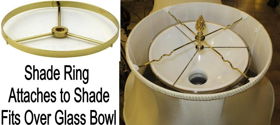 No Slide Shade Gripper Prevents Fabric Shade Sliding Floor Lamp Shades White Bowls Drum Lampshade
