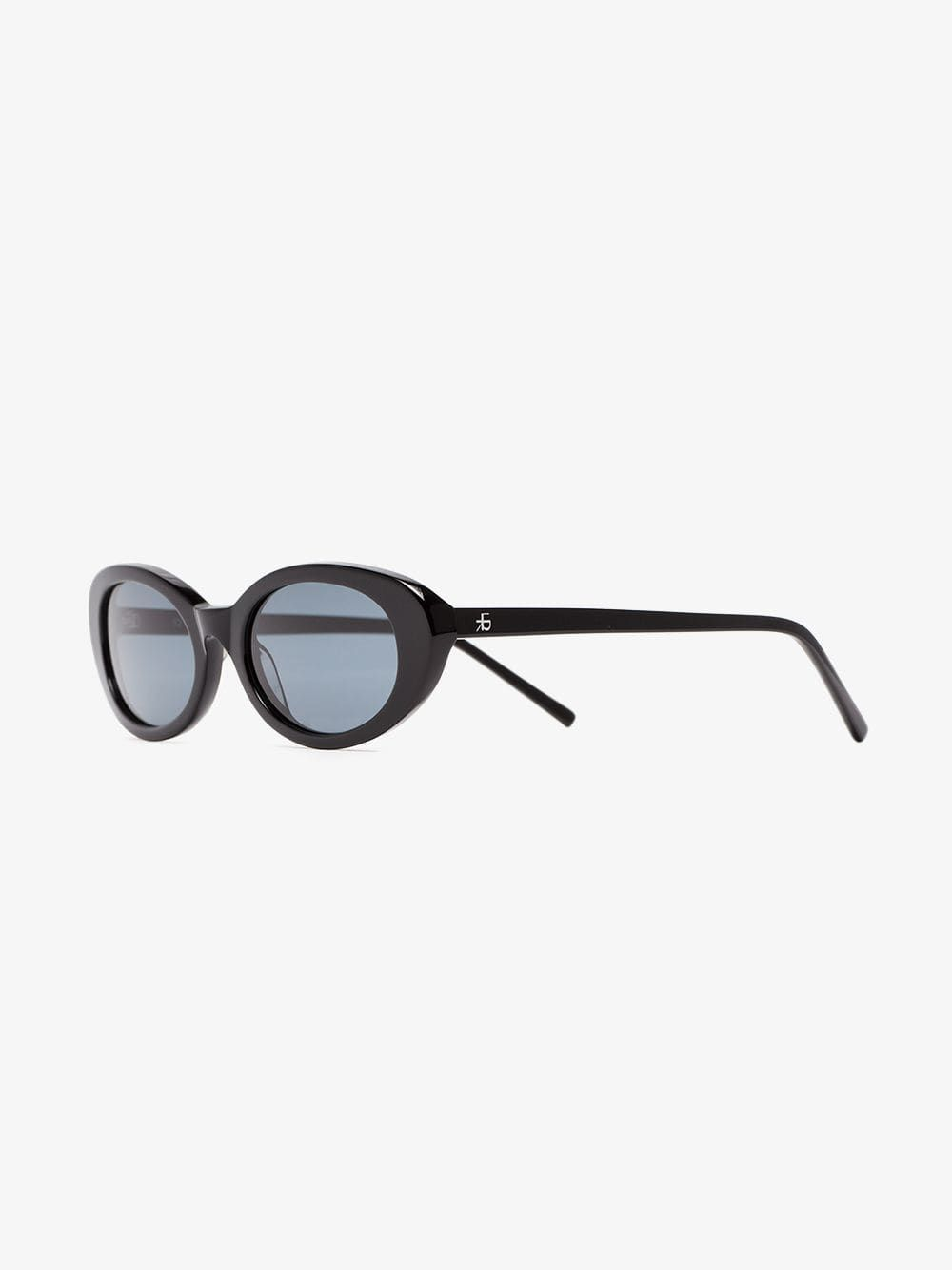 982175d2c6 Roberi   Fraud Black Betty Oval Sunglasses On Sale