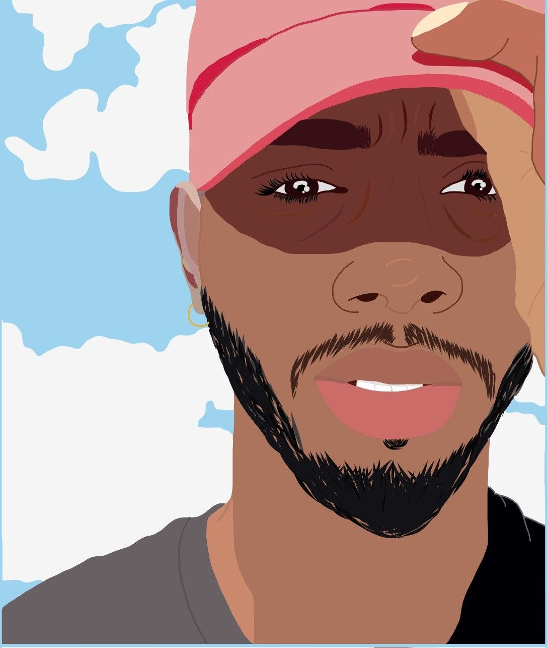Cartoon Of Brysontiller Aka Bryson Tiller In Honor Of His Album Released Today Titled True To Self Bryson Tiller Celebrity Drawings African Art