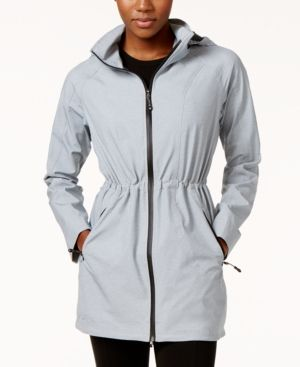 32 Degrees Waterproof Hooded Anorak, Only at Macy's - Gray XS