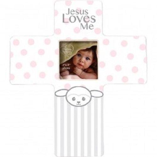Precious Moments Jesus Loves Me Lamb Frame Girl Precious Moments