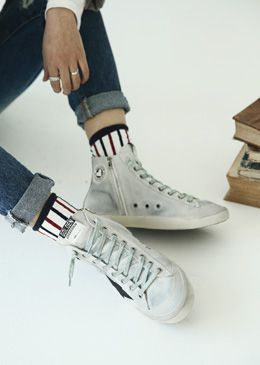 NY Graphic Print Sneakers