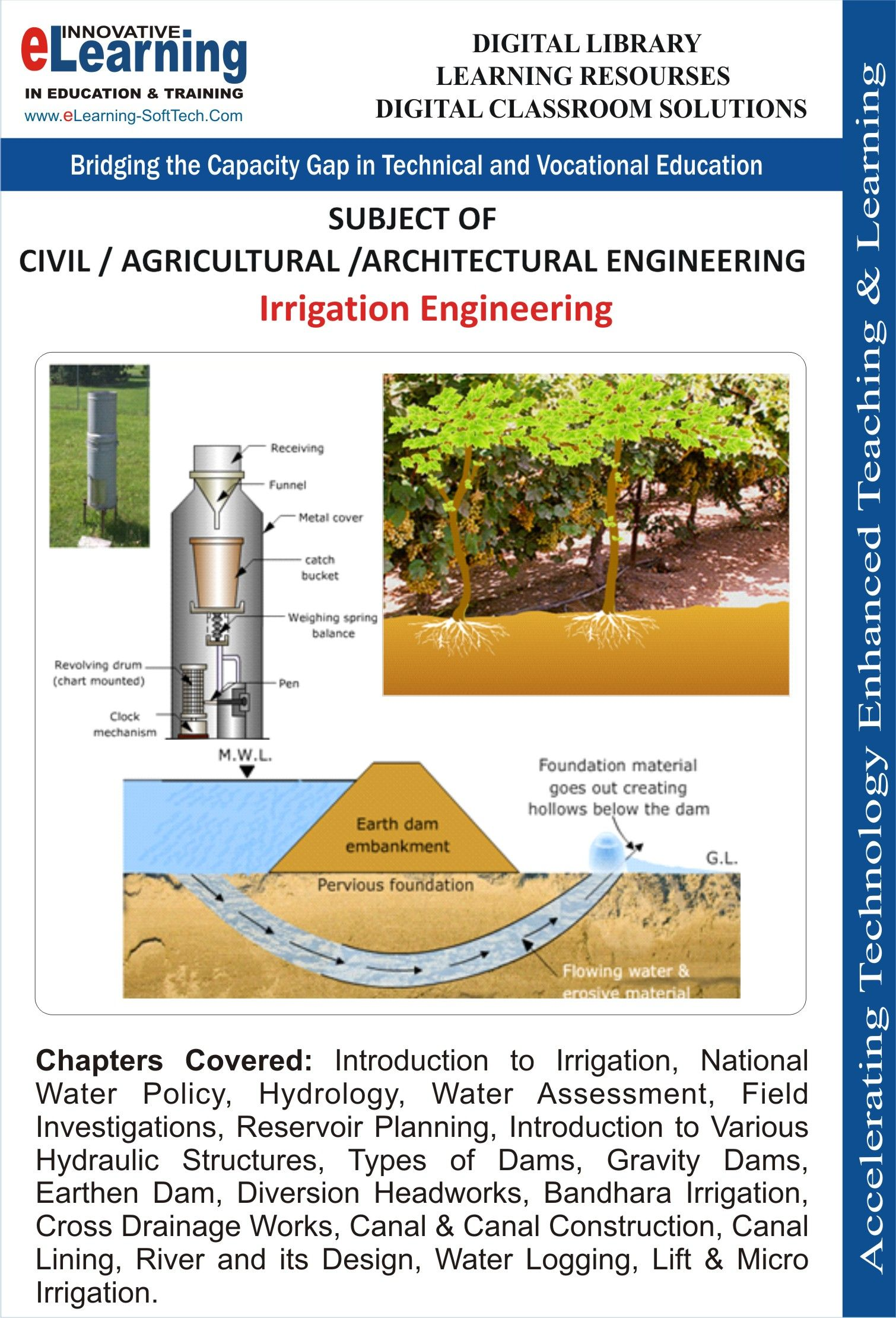 eLearning Software Solution for Irrigation Engineering   eLearning