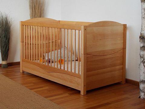 Elegant Die M belschmiede Kinderbett ALINA Kinderzimmer aus massiver Bio Erle