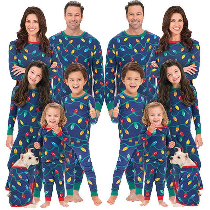 5982825f96  12 -  16 Family Matching Christmas Pajamas Set Men Women Baby Sleepwear  Nightwear  Unbranded  PajamaSet