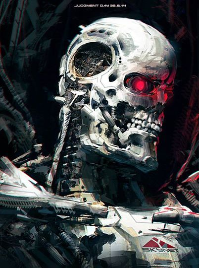 """""""There's no fate but what we make for ourselves."""" Terminator by Klaus Wittmann."""