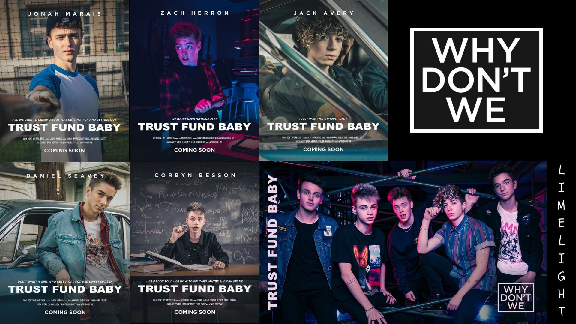 Why Dont We Trust Fund Baby themed computer wallpaper