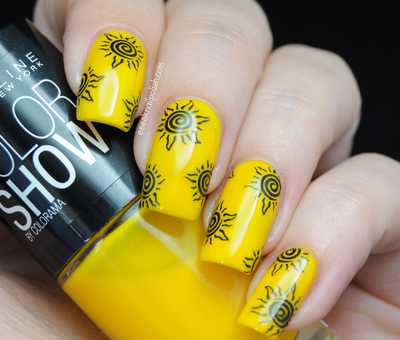 1000 Images About Yellow Nails On Pinterest Nail Nail Manicures And Nail  Design - Neon Yellow Nail Designs. Yellow Nail Art 14. Yellow Nails Blue