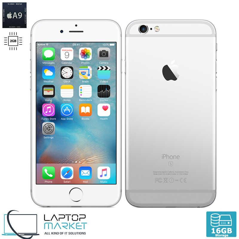 Apple Iphone 6s Plus 16gb Siiver A9 Dual Core 2gb Ram Unlocked
