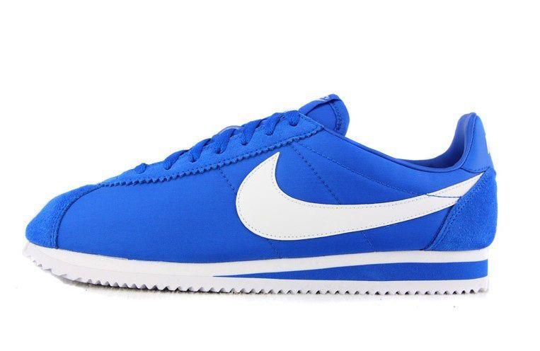 26c4490b4e01 Nike Classic Cortez Nylon Royal Blue White