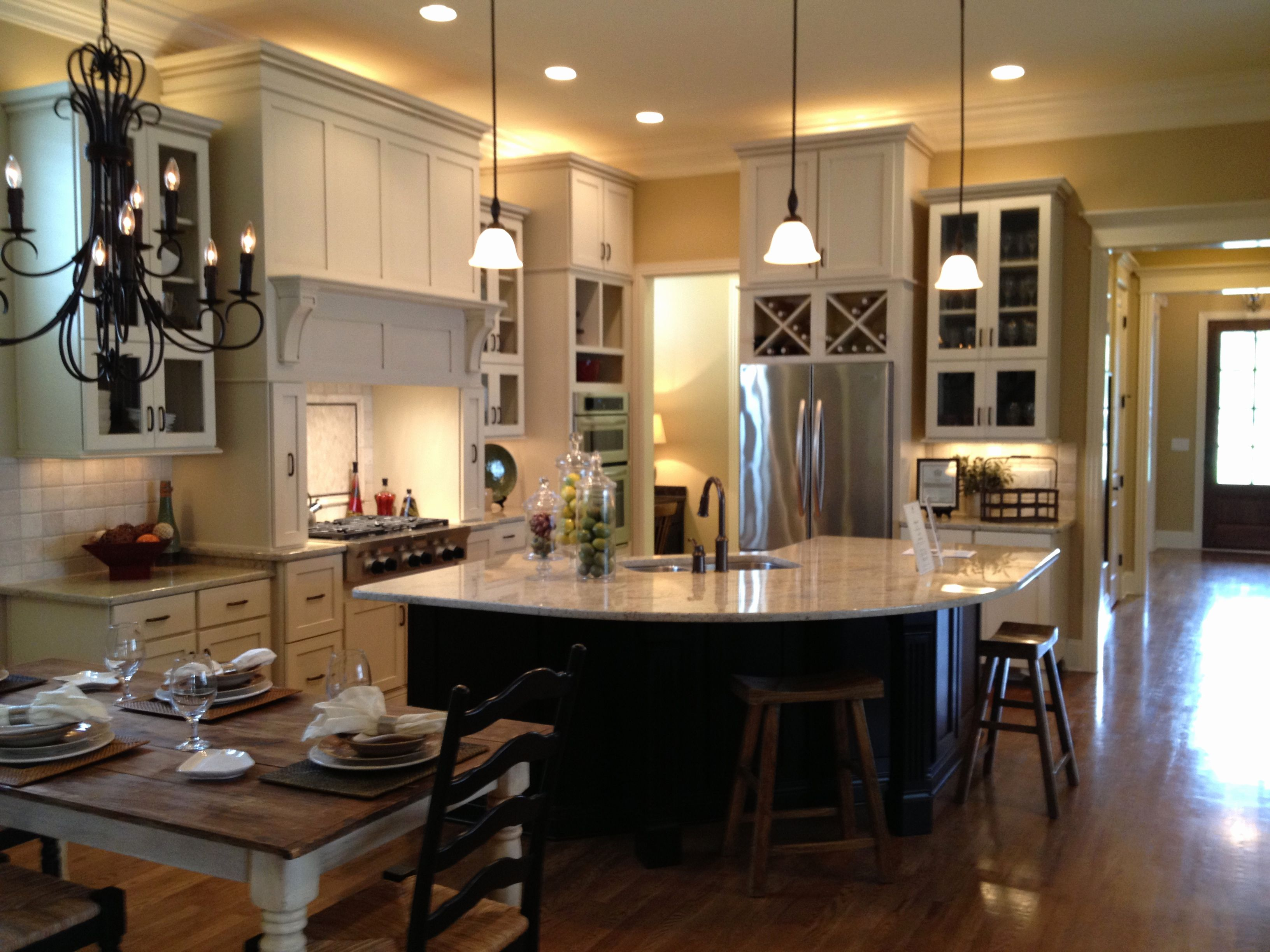 Kitchen Living Room Open Floor Plan Paint Colors Kitchen Dining