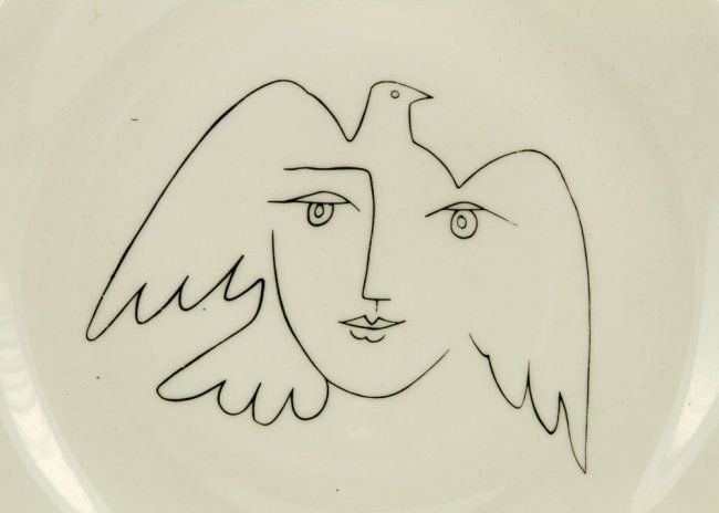 Contour Line Drawing Picasso : Picasso dove woman tattoo idea inspirati