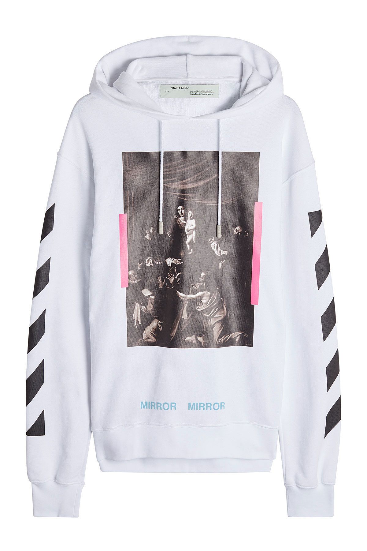 da2650f4 Off White - Printed Cotton Hoodie | STYLEBOP | outer in 2019 | Off ...