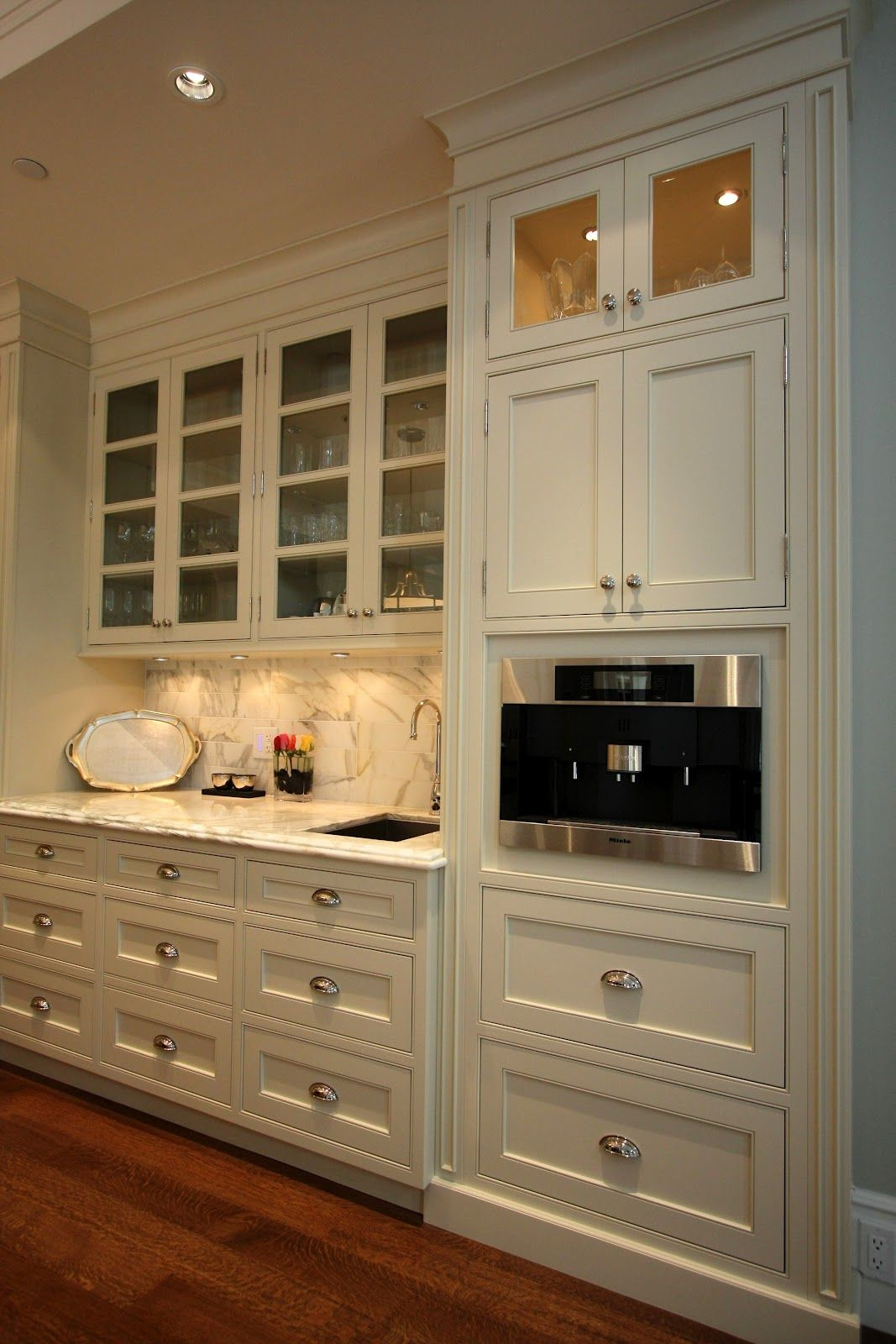 Custom White Inlay Cabinets Google Search Interior Kitchen Small Interior Design Kitchen Cottage Kitchen Design