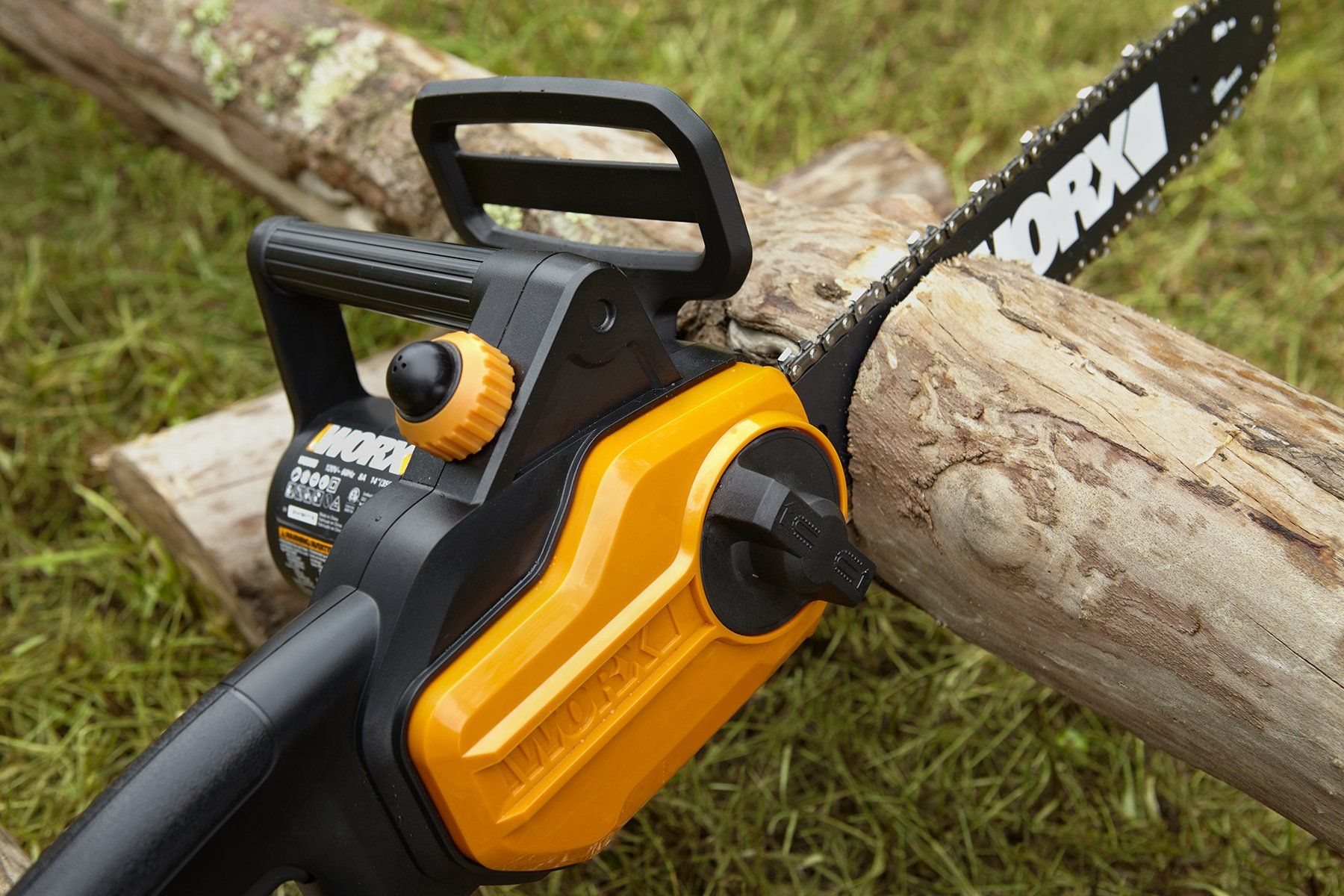 Worx Wg305 1 Electric Chain Saw Check Out This Great Product It Is An Affiliate Link To Amazon In 2020 Electric Chainsaw Chainsaw Chainsaw Brands