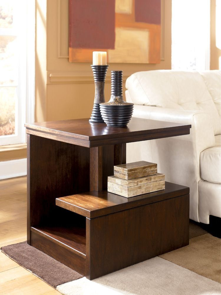 Callum Rectangular End Table by Ashley Furniture: Amazon ...