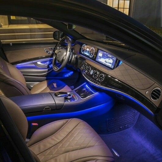 Mercedes Maybach S600 Interior Ambient Lighting Heaven On Wheels