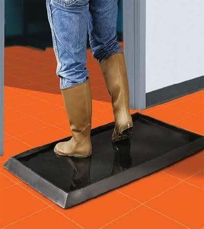 Sanitizing Footbath Floor Mat 24 In 2020 Flooring Floor Mats Cool Inventions