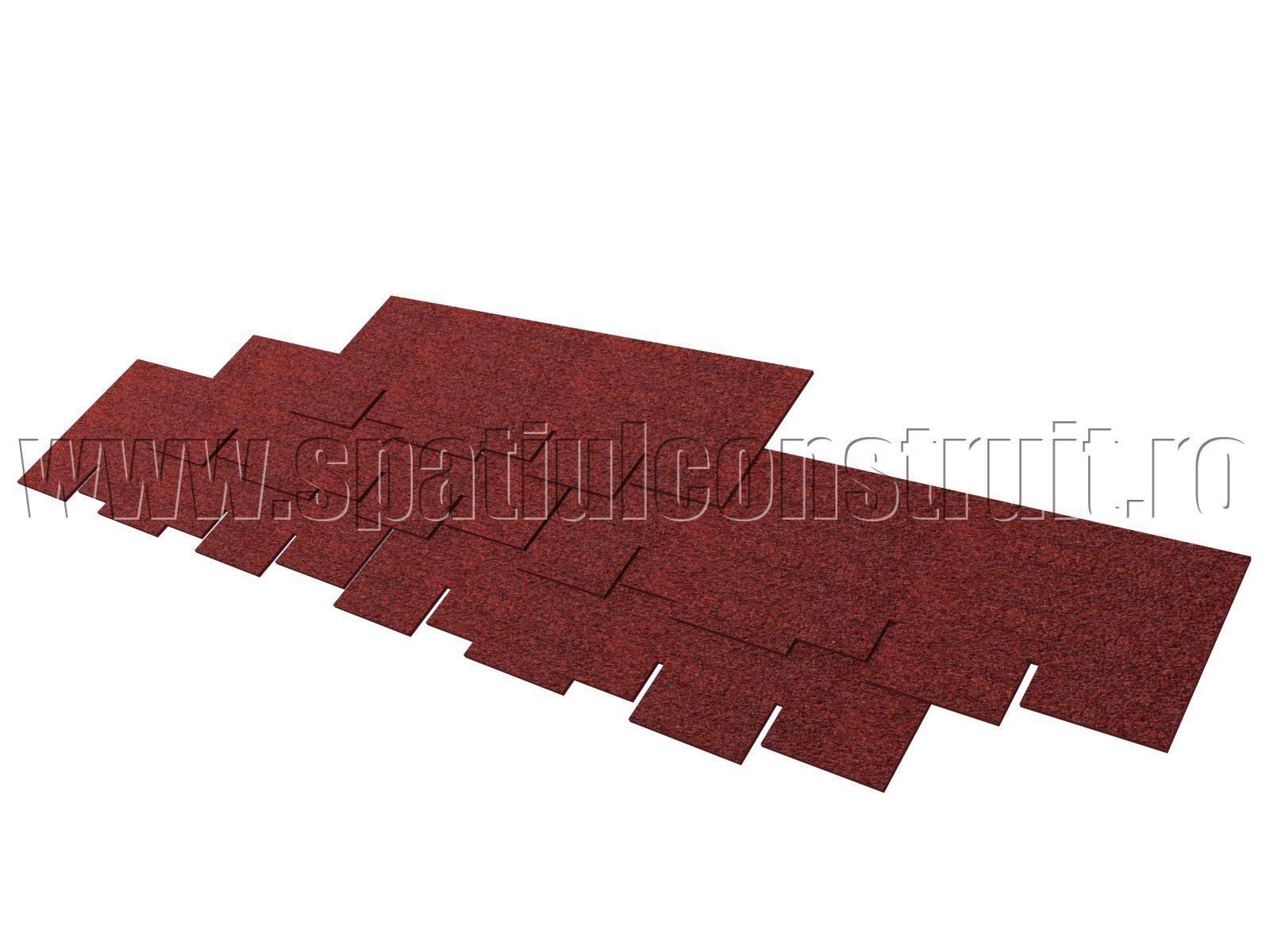 Pitched Roof Covering Materials/ Acoperisuri Cu Panta: Materiale Pentru  Invelitori U003eu003e Irregular Bituminous