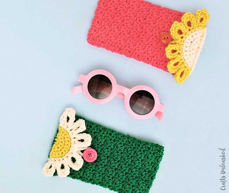 Crochet Pouch Pattern For Your Glasses - Consumer Crafts | Crochet ...