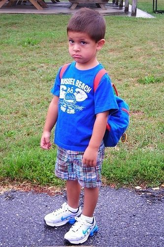 8 Adorably Embarrassing First Day of School Photos