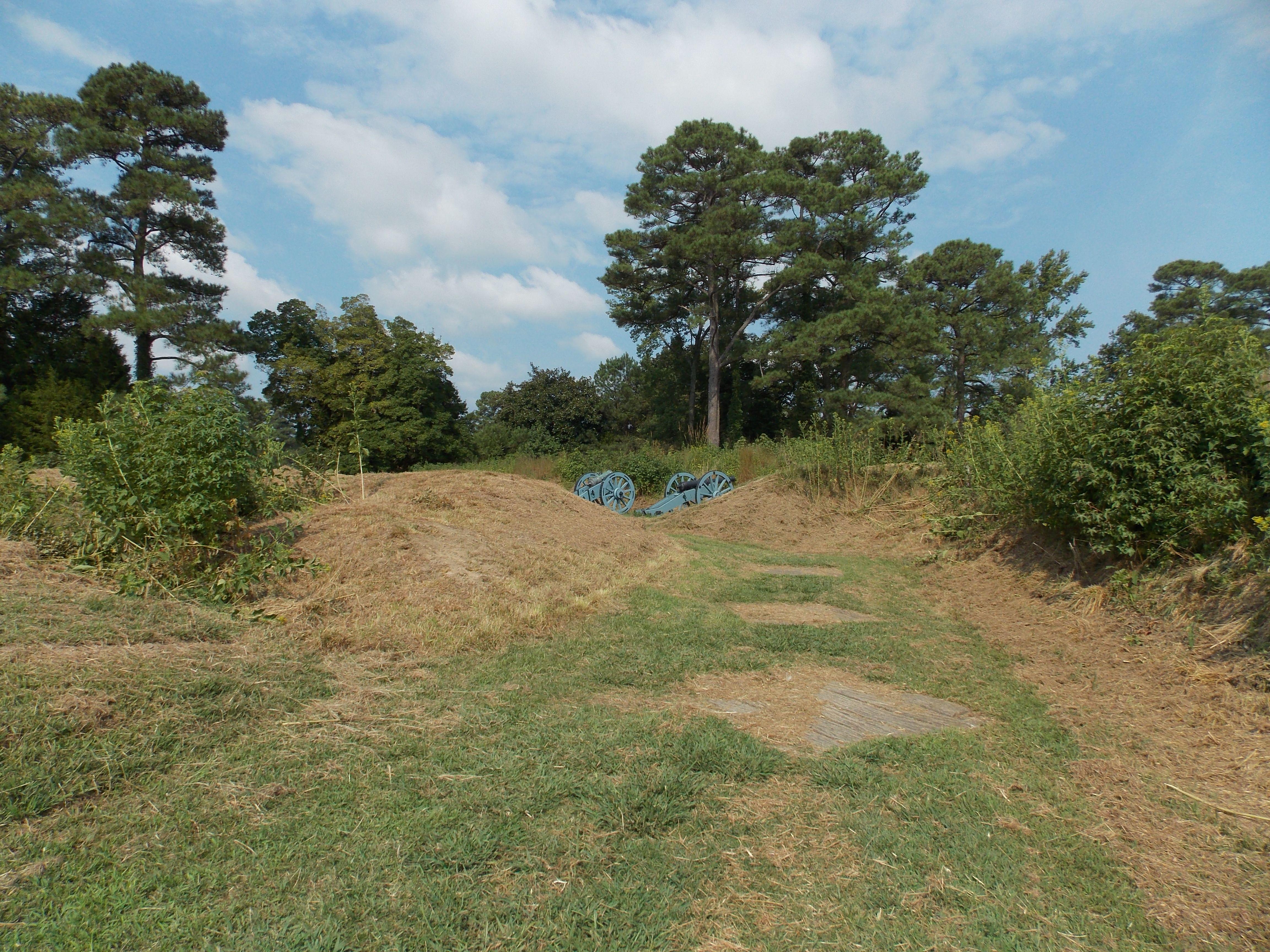 Yorktown National Battlefield First Siege Line