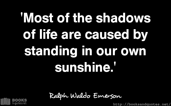Ralph Waldo Emerson Most of the sha #quotes