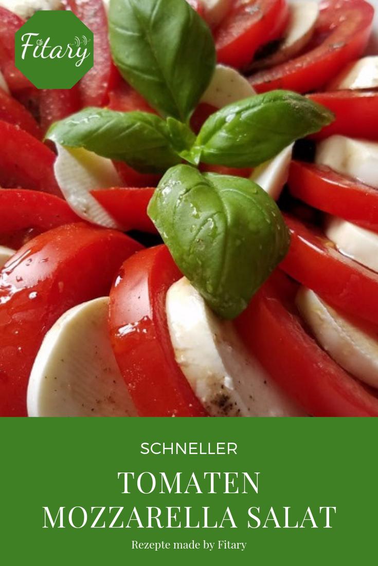5 Ideen Wie Man Einen Tomate Mozzarella Salat Schon Anrichten Kann