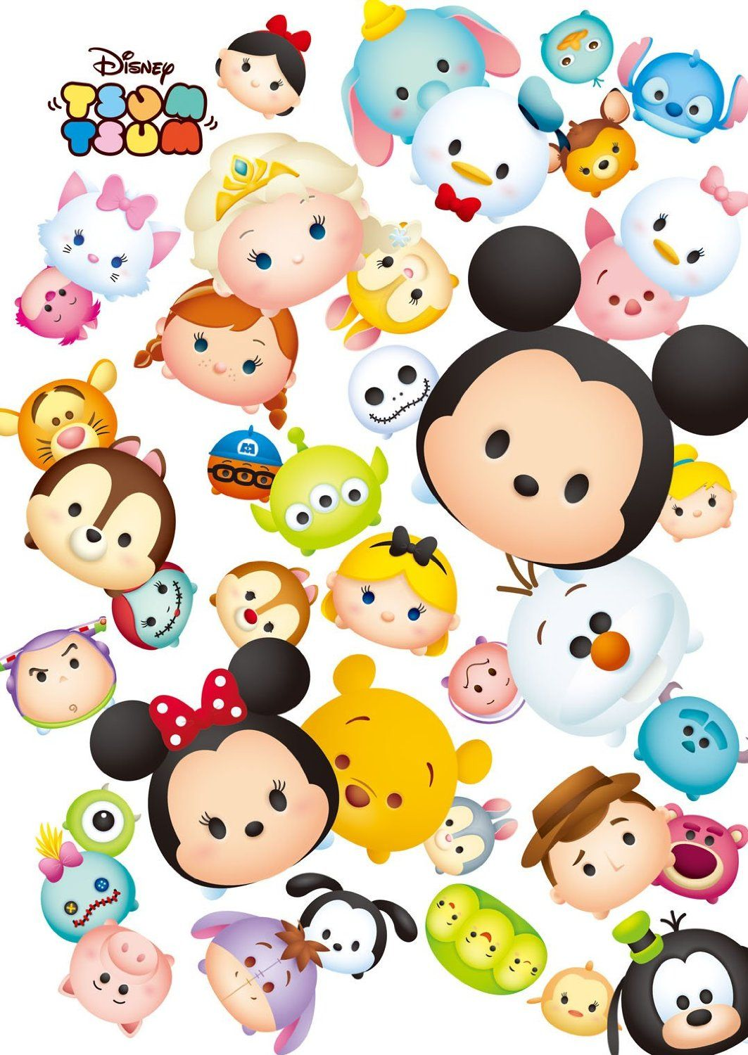 Iphone 6 sticker case - Disney Japan Disney Tsum Tsum Puzzle Tsum Tsum