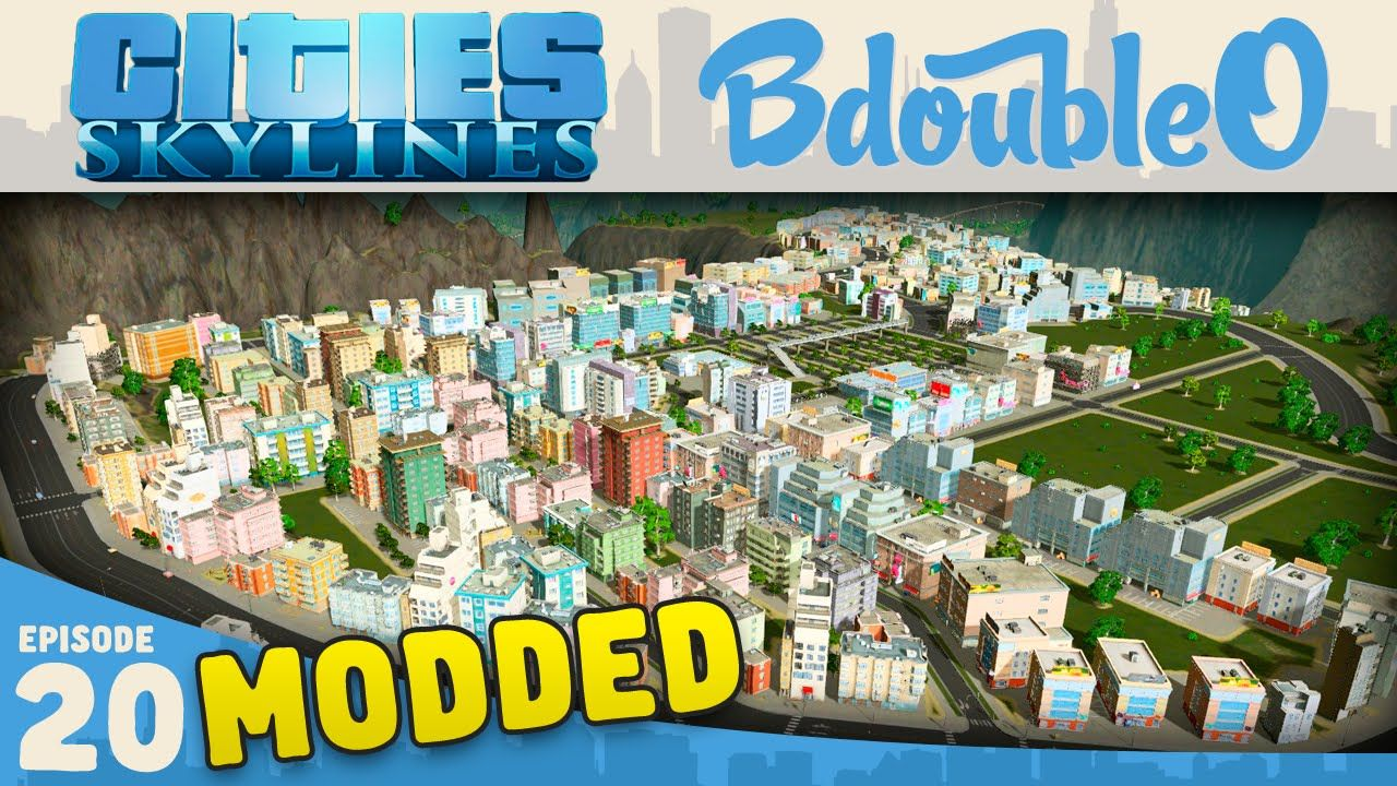 Cities Skylines Mods Plateau Town Part 20 Cities Skylines Gameplay City Skyline Skyline City