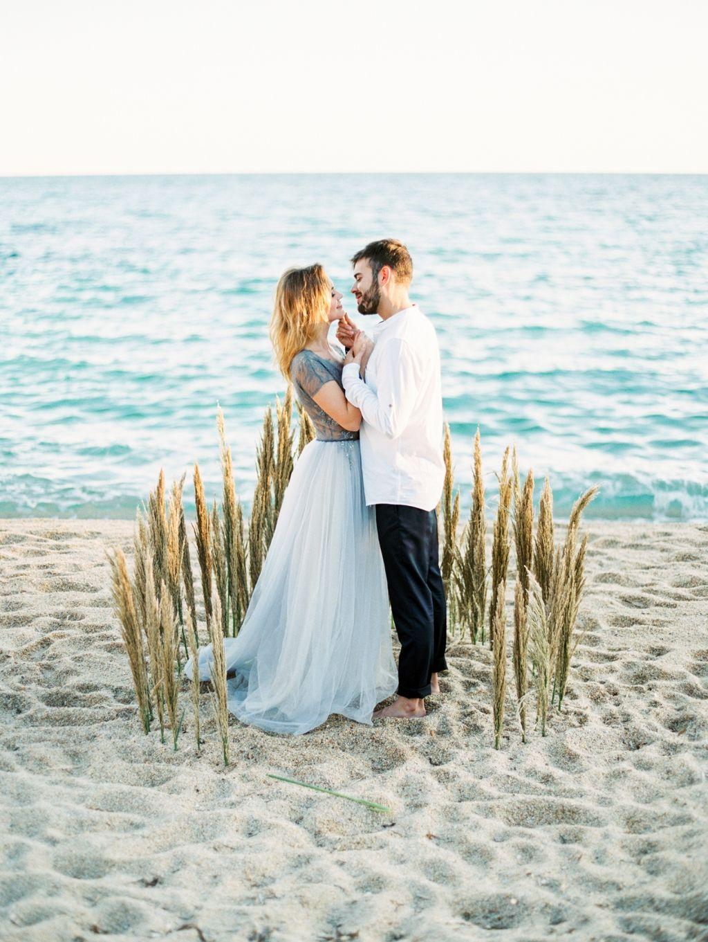 Relaxed beach wedding  Beautifully elegant coastal wedding inspiration from Spain