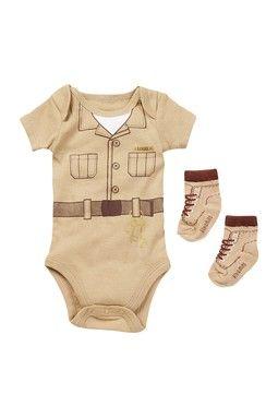 1d0f0448d3d Park Ranger Bodysuit   Sock Set (Baby Boys) Baby Park
