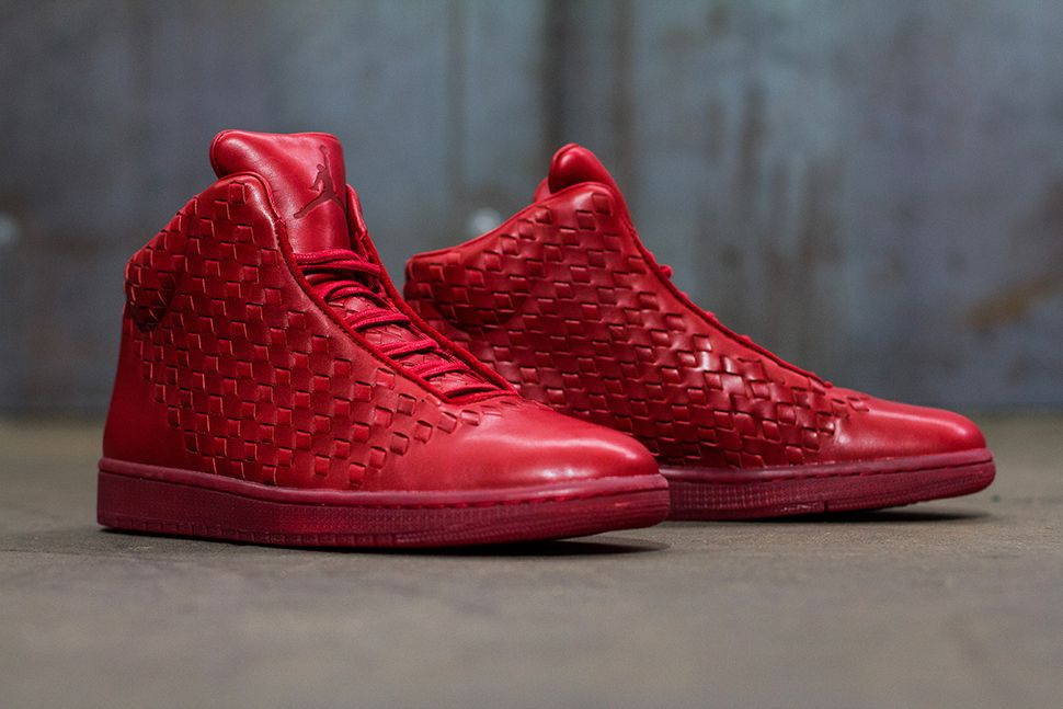 Nike Air Jordan Shine Leather Varsity Red