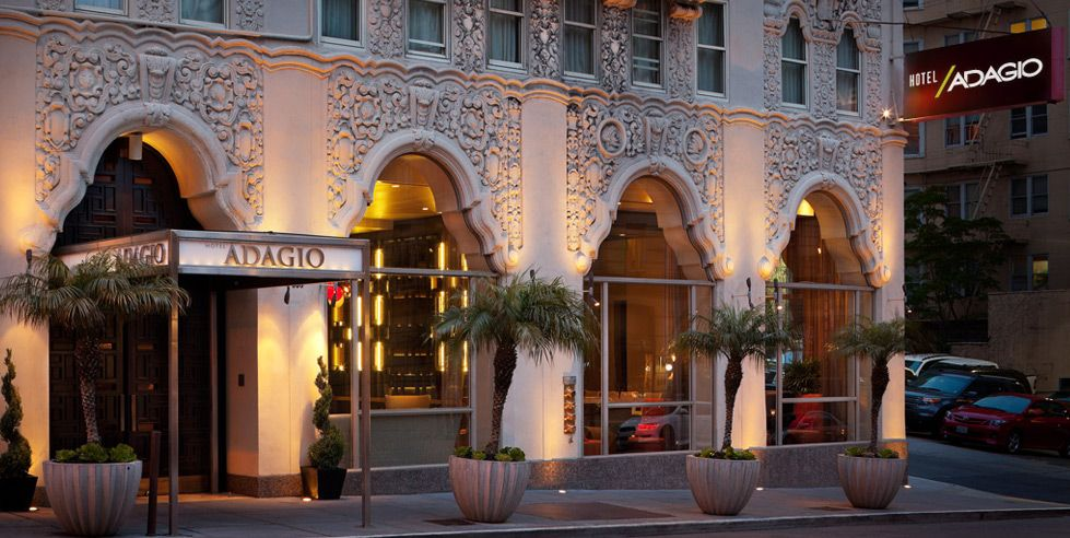 Luxury Boutique Hotels In Downtown San Francisco Hotel Adagio
