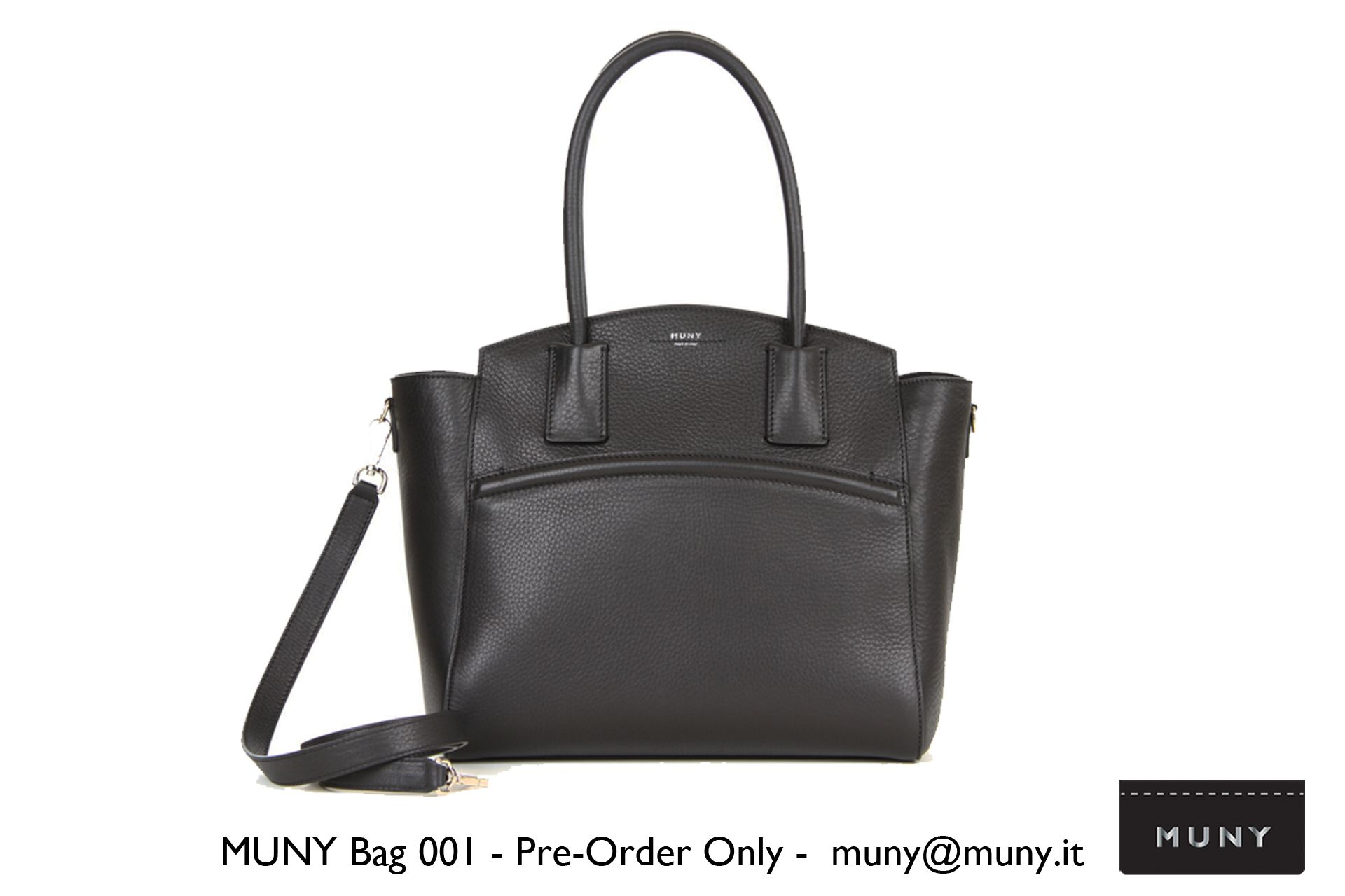 MUNY Bag 001 - Timeless Modern Design www.muny.it