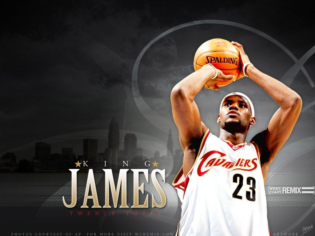 Cleveland Cavaliers Lebron James...going back home